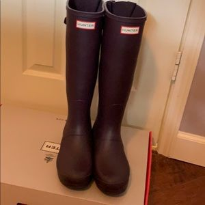 Original Hunter boots, once used once! 😍